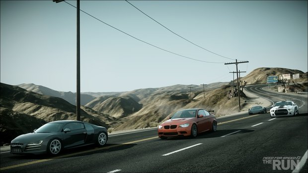 Need for Speed: The Run - Neuer Trailer führt uns in die Desert Hills