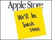 Neues bei Apple? Der Store ist down