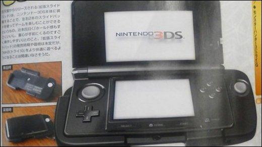 Nintendo 3DS - Soll das etwa der Joystick für Nintendos 3DS sein?