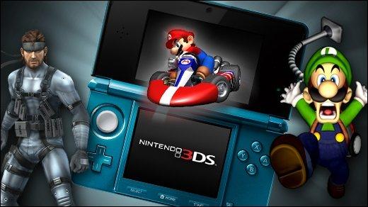 Nintendo 3DS Vorschau - Teil 1 - Luigi's Mansion 2, Metal Gear Solid 3D &amp&#x3B; Mario Kart