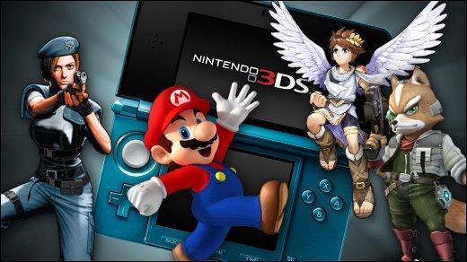 Nintendo 3DS Vorschau - Teil 2 - Resident Evil 3D, StarFox 64 3D, Kid Icarus &amp&#x3B; Super Mario