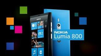 Nokia Lumia 800 - Optischer Leckerbissen mit Macken
