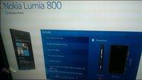 Nokia World - Nokia Lumia 710 und Lumia 800 mit Windows Phone 7 geleakt