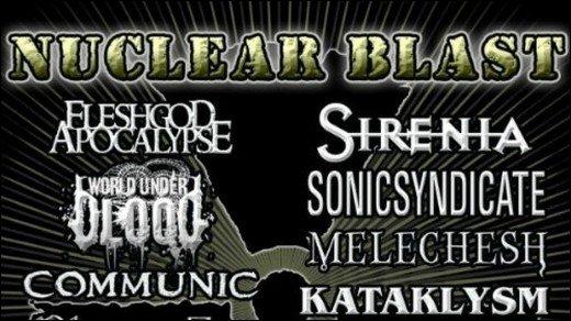 Nuclear-Blast-Sampler - Heavy Summer 2011 mit 15 MP3s kostenlos