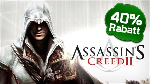 PC - Assassins Creed 2 (D1 Edition) heute für 17,95 Euro bei Gamesload