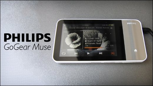 Philips GoGear Muse 3 - Test des Media-Players von Philips