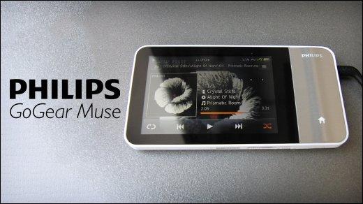 Philips GoGear Muse 3 - Test des Media-Players von Philips