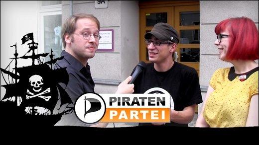 Piratenpartei im Interview - GIGA entert die Berliner Geschäftsstelle der Politik-Newcomer