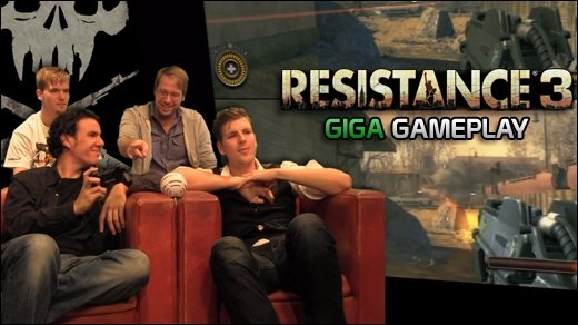 Resistance 3 Gameplay - GIGA Gameplay zum PS3-exklusiven Alien-Shooter