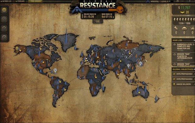 Resistance 3 - Website und Browserspiel angeblich von Hackern angegriffen