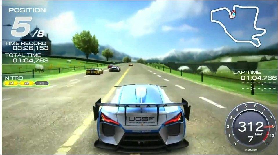Ridge Racer Vita - Gameplay-Trailer zum Handheld Racer
