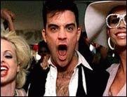 Robbie Williams macht uns den Travolta!