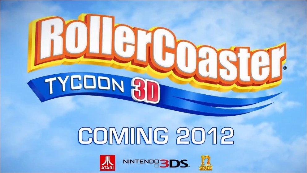 Rollercoaster Tycoon - 3DS Ableger kommt im nächsten Jahr