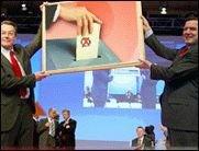 Rücktritt statt Neuwahl - Müntefering statt Schröder?