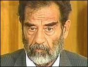 Saddams Bein zu versteigern