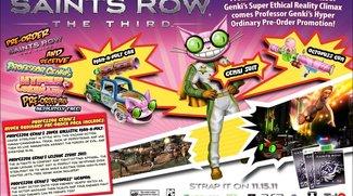 Saints Row: The Third - Trailer stellt krankes Pre-Order Pack vor