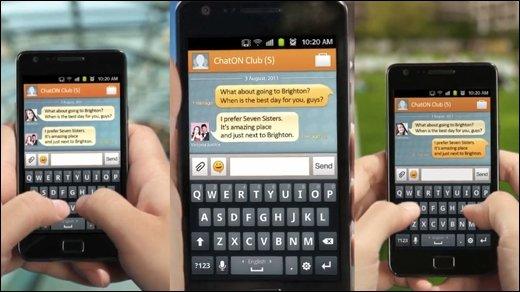 Samsung ChatON - Instant-Messenger gegen Facebook und Co