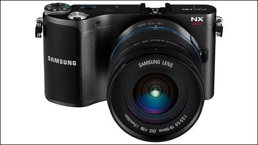 Samsung NX200 - Megapixel-starke Systemkamera mit Hochgeschwindigkeits-AF