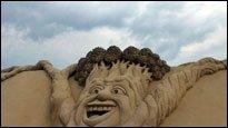 Sandskulpturen - Was man am Strand so alles bauen kann