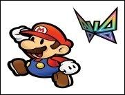 Schlankheitsfun - Super Paper Mario für die Wii