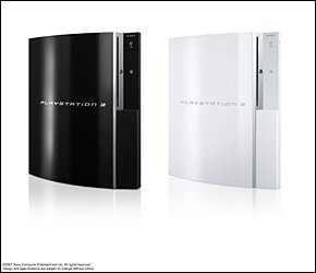 Schneeweiße Playstation 3 für die USA