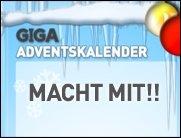 Schokolade macht dick, GIGA macht glücklich! Der GIGA Adventskalender.
