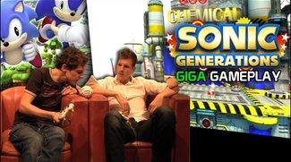 Sonic Generations Gameplay - GIGA Gameplay mit Fabian von SEGA