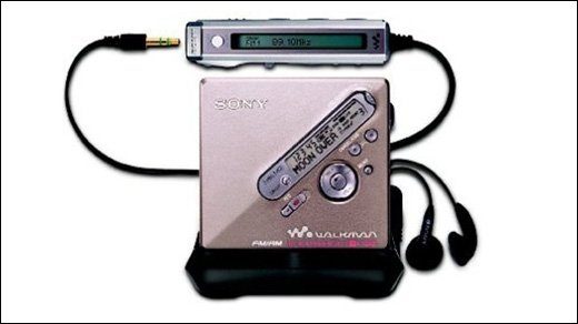 Sony MiniDisc - Aus und vorbei - Sony trägt MiniDisc zu Grabe