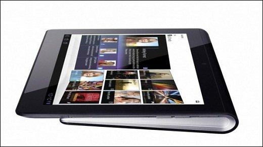Sony Tablet S - IFA-Video: Sonys Tablet S in der Übersicht