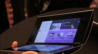 Sony Tablet S2 - Großer Bruder mit Dualscreen und UMTS heisst jetzt Tablet P