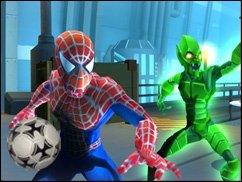 Spiderman spielt Handball! - Spider-Man spielt Handball!