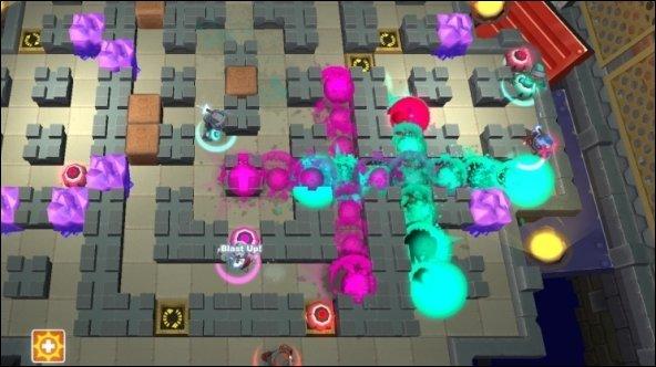 Spiral Knights - Bomberman inspiriert Blast Network-PvP-Modus