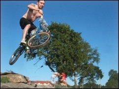 Sport in Deiner Nähe: BMX