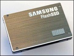 SSDs im Vormarsch: 256-GByte-SSD von Samsung