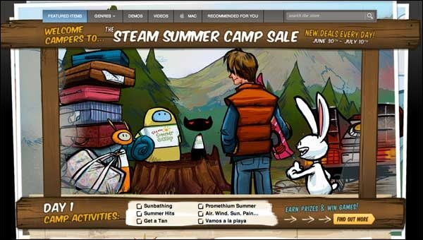 Steam  - Großer Summer Sale hat begonnen