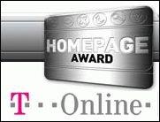 T-Online Homepage Award