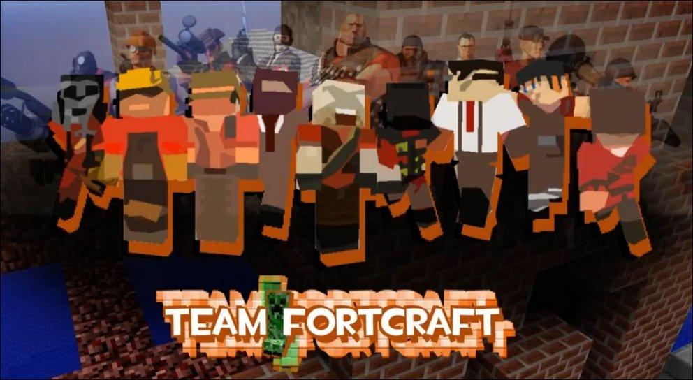 Team Fortcraft - Minecraft meets TF2