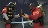 Team Fortress 2 - Heavy und Co im Asia-Look