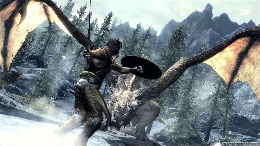 The Elder Scrolls V: Skyrim - 20 Minuten langes Gameplay-Video