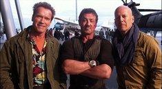 The Expendables 2 - Erstes Setfoto mit Arnie, Sly & Brucie!