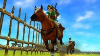 The Legend of Zelda: Ocarina of Time 3D - Robin Williams und Tochter Zelda im Werbespot
