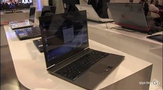 Toshiba - Erster Blick auf das Z830 Ultrabook und das AT 200 Tablet