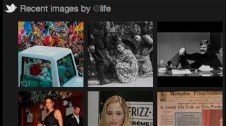 Twitter - Neue Foto-Galerien zeigen hochgeladene Bilder
