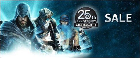 Ubisoft - PSN-Rabatte zum 25. Geburtstag