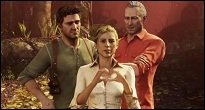 Uncharted 3: Drake's Deception - Elena-Screenshot stammt von einer Charity-Aktion