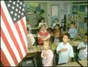 US-Kids schwören weiter auf die Fahne