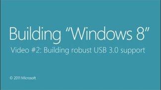 USB 3.0 unter Windows 8 - Micosoft zeigt wie schnell USB 3.0 unter Windows 8 sein kann - inklusive Rennen mit USB 2.0