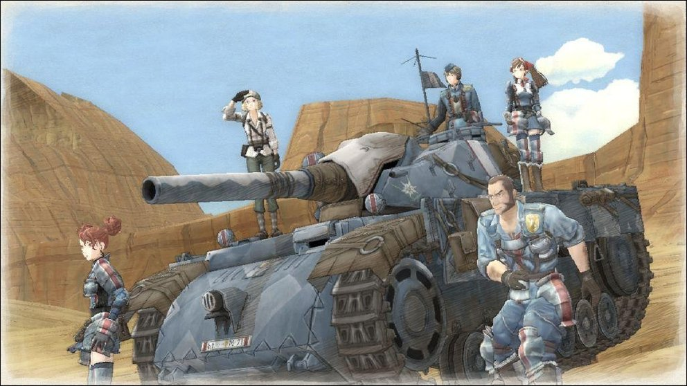 Valkyria Chronicles - Fantasy-Taktik Made in Japan