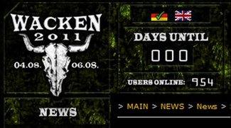 Wacken Live-Stream 2011 - Das legendäre Metal-Festival live online sehen