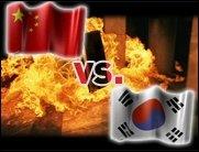 Warcraft III Showmatch zwischen China und Korea